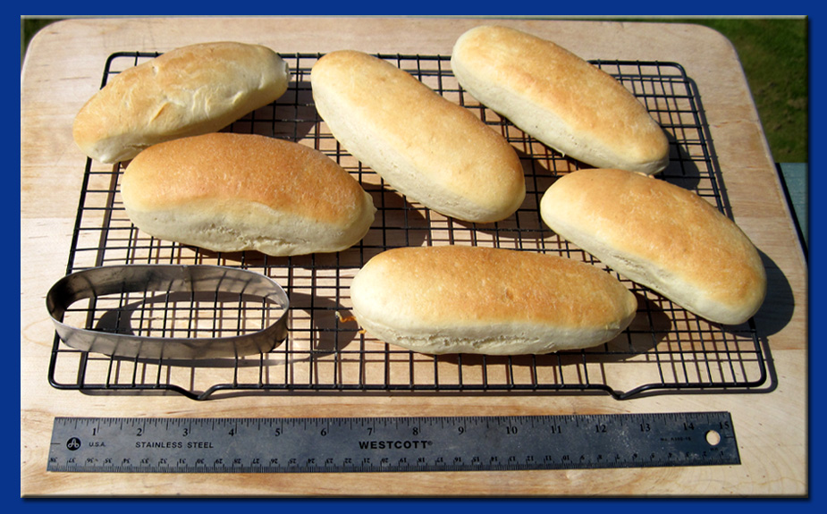 Shaping Hot Dog Buns - Tool